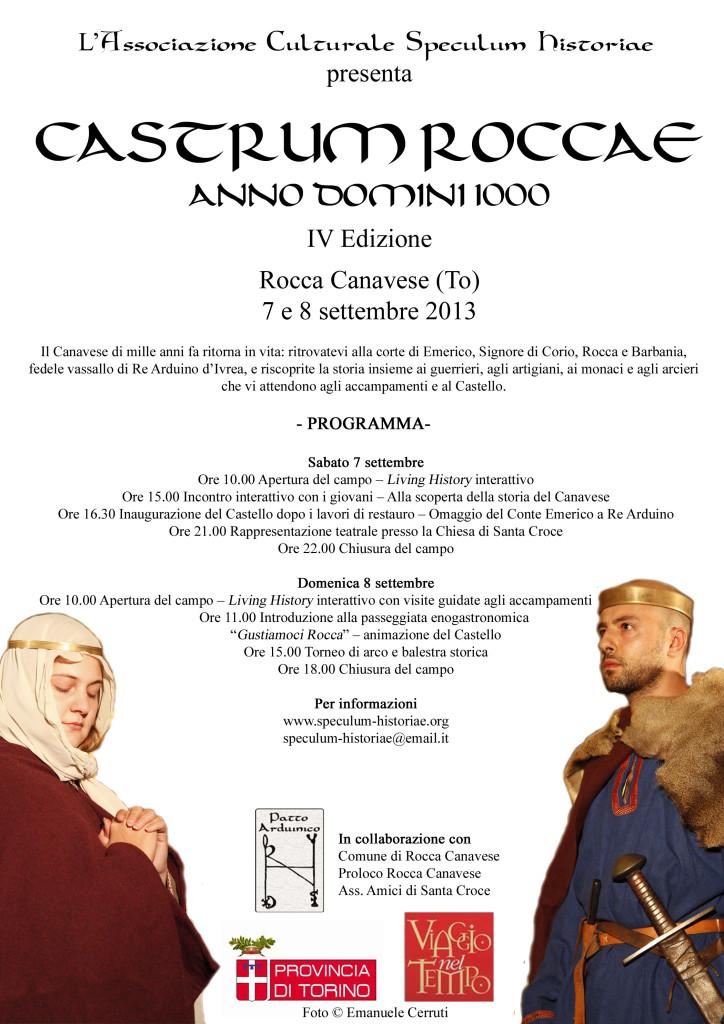 Volantino Castrum Roccae 2013